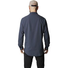 Houdini LS Shirt Men Homme, big bang blue